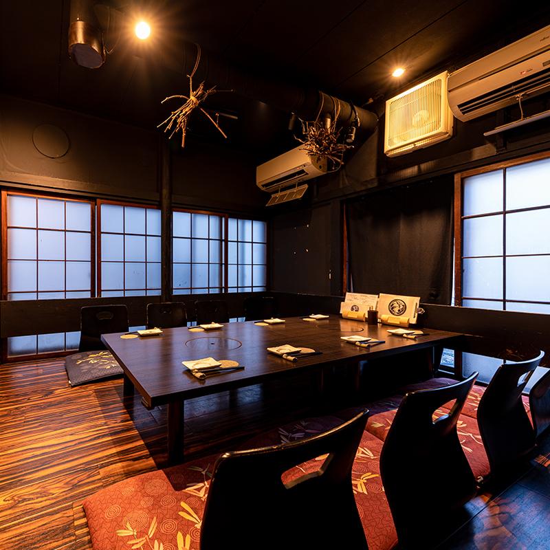 【完全個室】古民家の座敷を思わせる広々とした個室